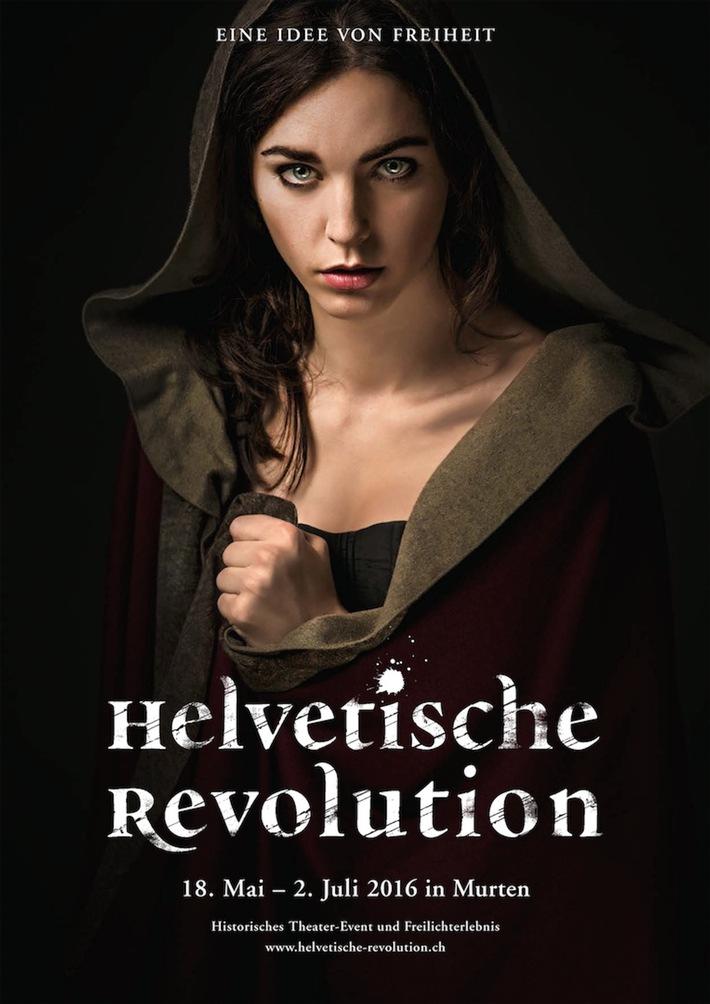 Historisches Theater-Event und Freilichterlebnis in Murten: Grosses Kapitel zur Helvetischen Revolution aufgeschlagen