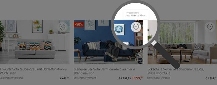 endlich m bel um die ecke jetzt im internet finden pr sentiert lokal presseportal. Black Bedroom Furniture Sets. Home Design Ideas