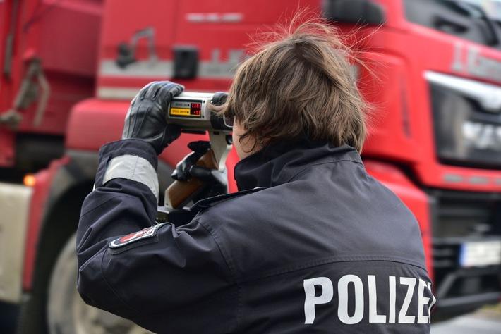 Laserpistole im Einsatz - Archivbild -