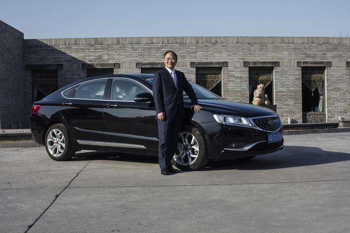 in Geely Gründer Li Shufu ist neuer Aktionär der Daimler AGLi Shufu hat 9,69 Prozent der Anteile erworbenLangfristiges Investment/Digitale Services und Elektromobilität im Fokus
