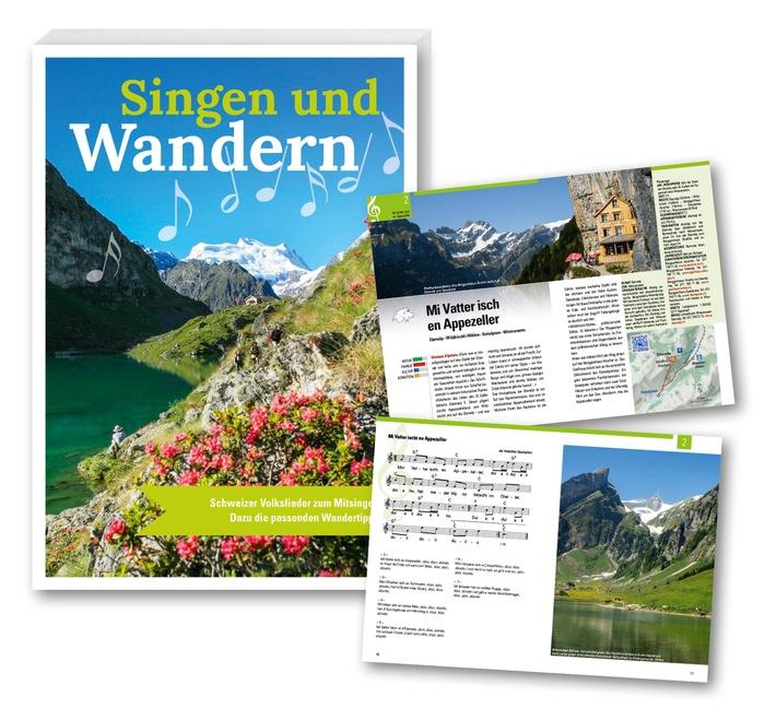 Neuerscheinung im September: Singen und Wandern - das Liederbuch mit dazu passenden Wanderungen