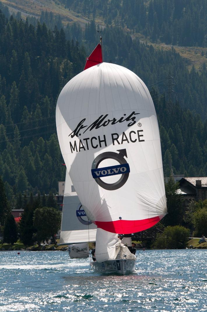 Volvo wird Hauptsponsor des St. Moritz Match Race und  Titelsponsor des Volvo Match Race Cup