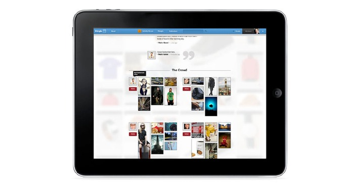 Things are on the way up for Swiss social media start-up Thingle (PICTURE)