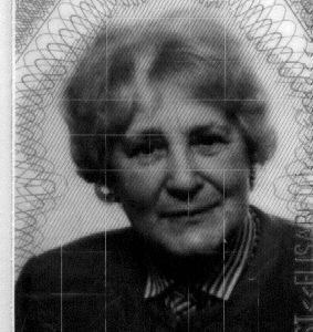 Passbild der Vermißten Frau