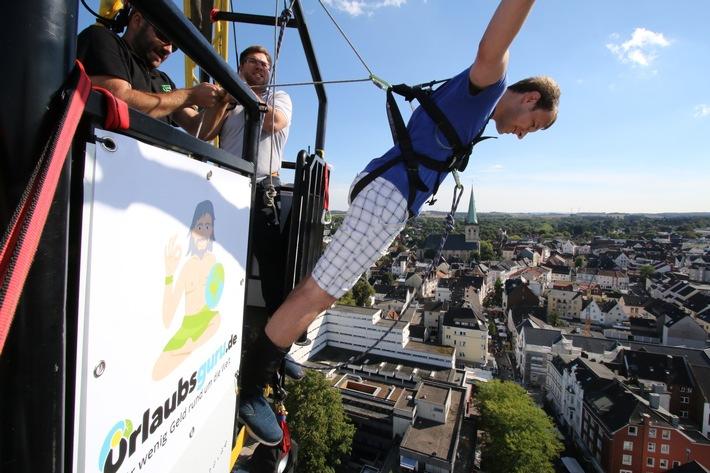 Presse-Info: Gratis Bungee Jumping beim Stadtfest Unna
