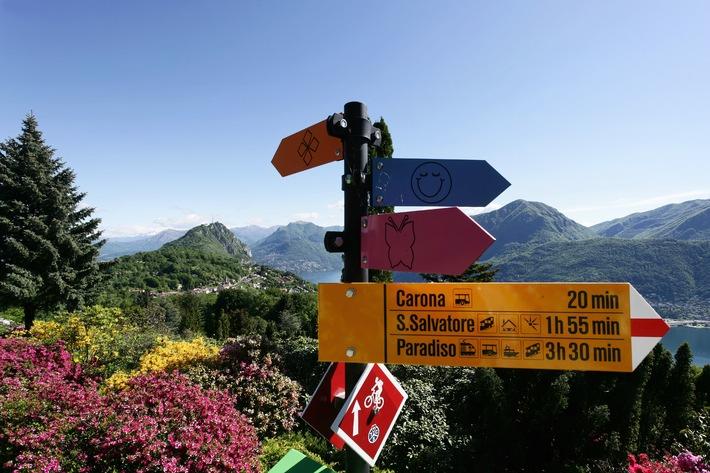 Risveglio primaverile in Ticino. Parchi e giardini (IMMAGINE/ALLEGATO)