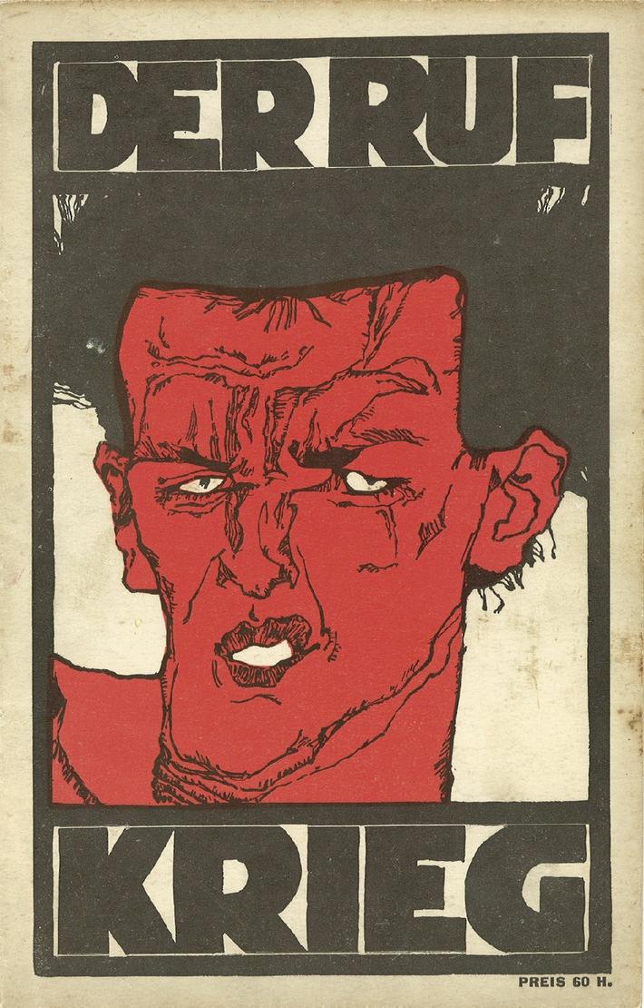 Krieg, Propaganda, Kunst: Symposium zum Ersten Weltkrieg im Leopold Museum - BILD