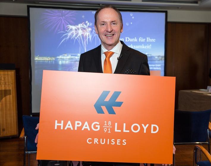"""125 Jahre Kreuzfahrten"": Aus Hapag-Lloyd Kreuzfahrten wird Hapag-Lloyd Cruises"