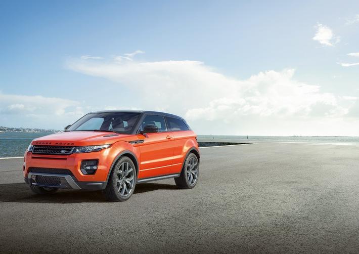 Mehr Luxus - mehr Leistung - mehr Technik: Bestseller Range Rover Evoque mit neuem Topmodel (Bild)