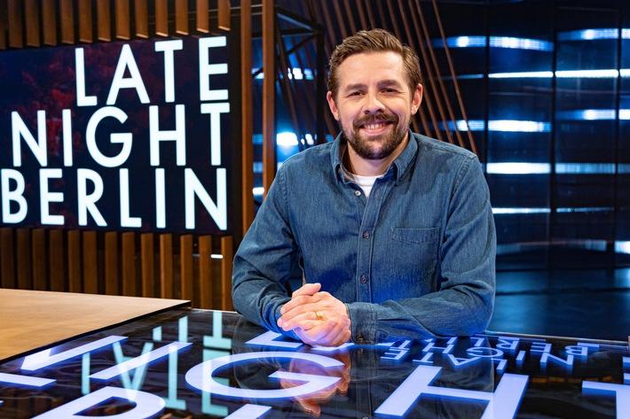 """Rätselkönige bei """"Late Night Berlin"""": Matthias Opdenhövel und Kai Pflaume zu Gast bei Klaas Heufer-Umlauf (FOTO)"""