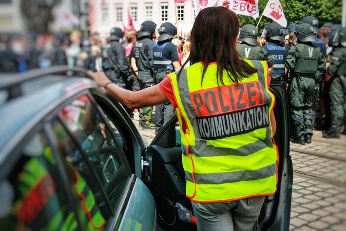 Übung Polizei Mainz