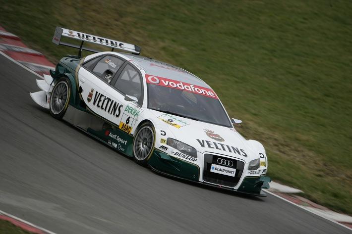 Veltins startet 2006 in der DTM mit Heinz-Harald Frentzen im Audi Sport Team - Abt Sportsline