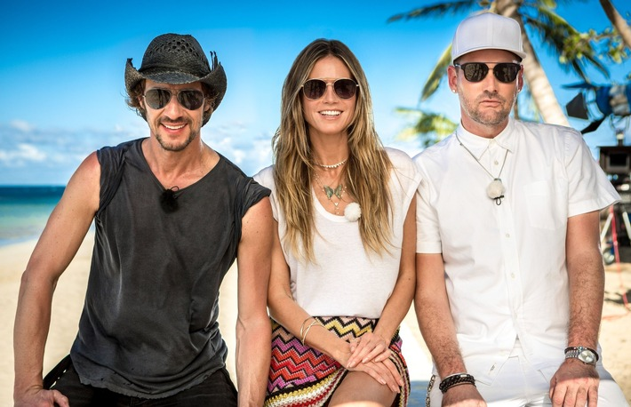 "Welcome to Paradise - Die 13. Staffel ""Germany's next Topmodel - by Heidi Klum"" startet am 8. Februar in der Karibik"