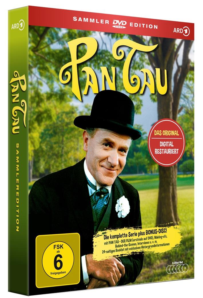 50 Jahre Pan Tau: DAS ORIGINAL ist DIGITAL RESTAURIERT auf DVD und Blu-ray, die neue Serie digital ab November erhältlich