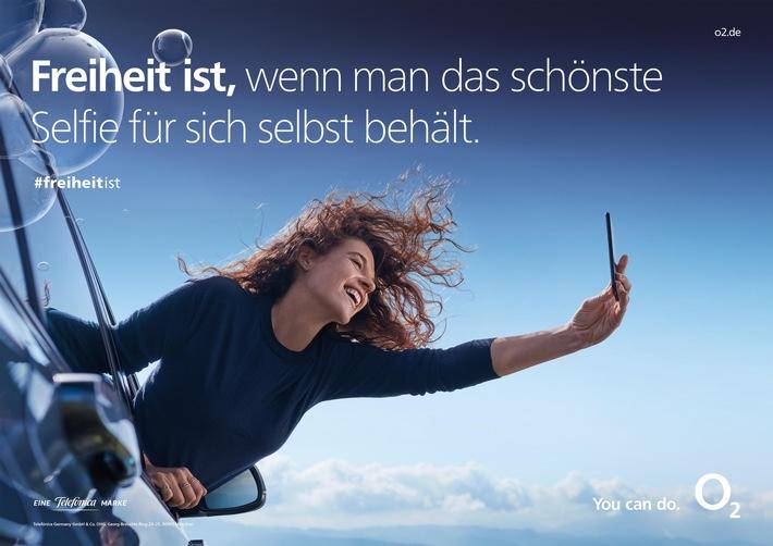 Neue o2 Kampagne rund um die mobile Freiheit: Mehr Selbstbestimmung im digitalen Alltag durch o2