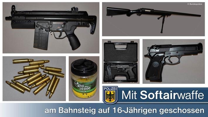 Einige der beschlagnahmten Waffen bzw. der Munition