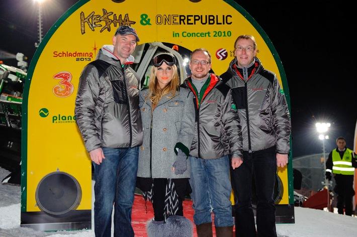 8.000 Fans bei Ke$ha, Klum & Co beim Skiopening auf der Planai
