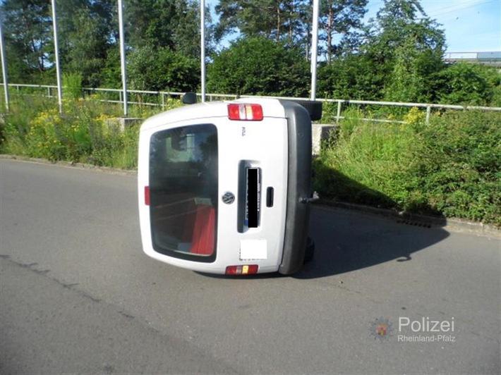 POL-PPWP: Unfall durch Krampf