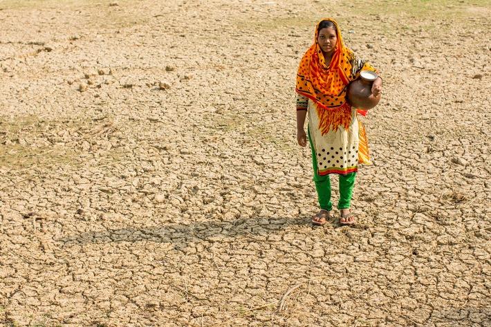 """Klimawandel Bangladesch. Changement climatique Bangladesh. Weiterer Text über ots und www.presseportal.ch/de/nr/100000088 / Die Verwendung dieses Bildes ist für redaktionelle Zwecke honorarfrei. Veröffentlichung bitte unter Quellenangabe: """"obs/Caritas Schweiz / Caritas Suisse/Alexandra Wey"""""""