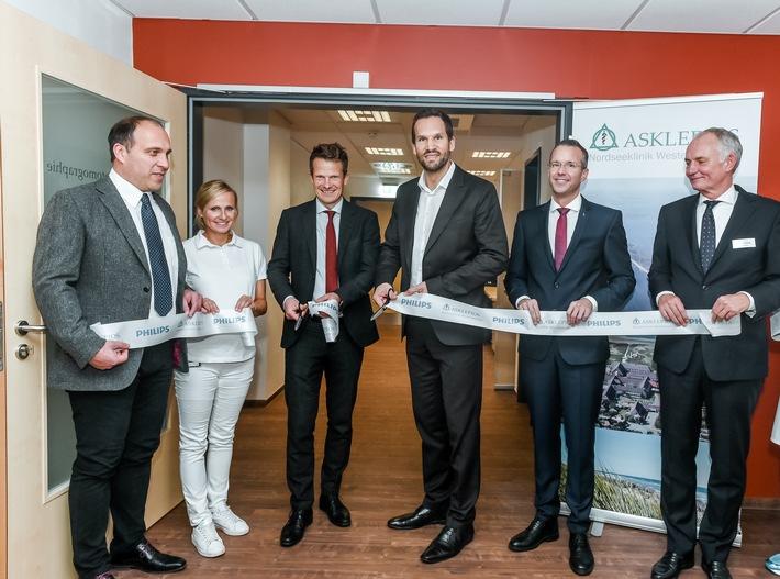 Medizintechnische Weltpremiere in der Asklepios Nordseeklinik Westerland