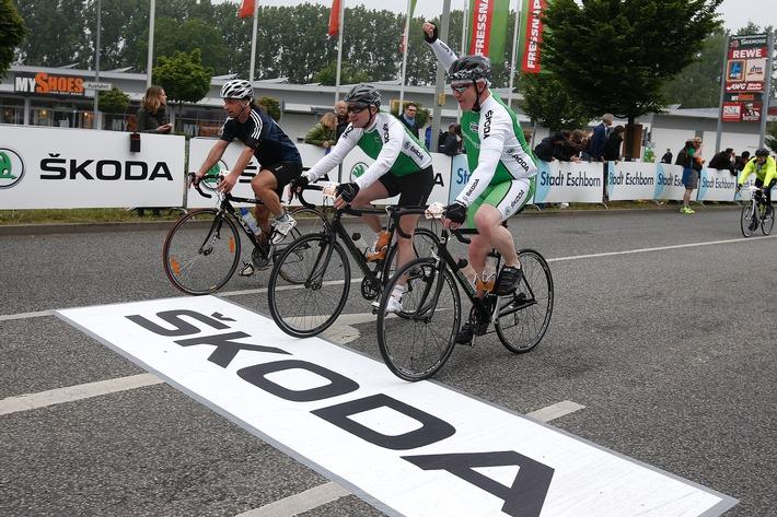 SKODA startet bei ,Rund um den Finanzplatz Eschborn-Frankfurt' in die Radsportsaison