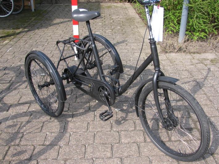 aufgefundenes Dreirad