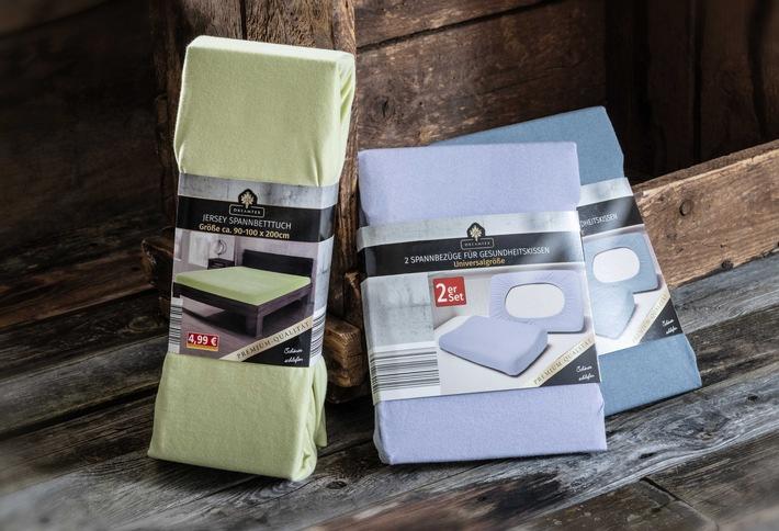 NORMA spart im Zuge der Nachhaltigkeitsstrategie 2,5 Mio. Stück bei Plastikverpackungen für Kissenbezüge und Spannbetttücher ein / Beachtliche Reduktion von Kunststoffverpackungen seit 2020 bis jetzt