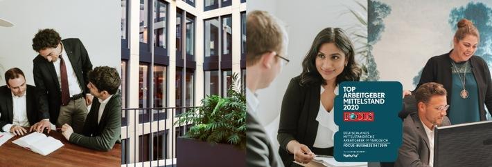 KRAUS GHENDLER RUVINSKIJ Anwaltskanzlei als Top-Arbeitgeber ausgezeichnet / Beste Beratung dank zufriedener Mitarbeiter (FOTO)