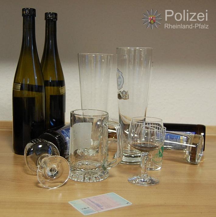 POL-PPWP: Stadtgebiet Kaiserslautern - Alkoholisierte Fahrer im Visier