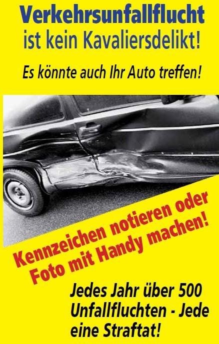 POL-PDLU: Maxdorf - Verkehrsunfall Verursacher entfernt sich von der Unfallstelle