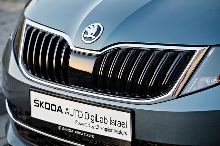 SKODA AUTO schließt weitere Kooperationen mit Hightech-Startups