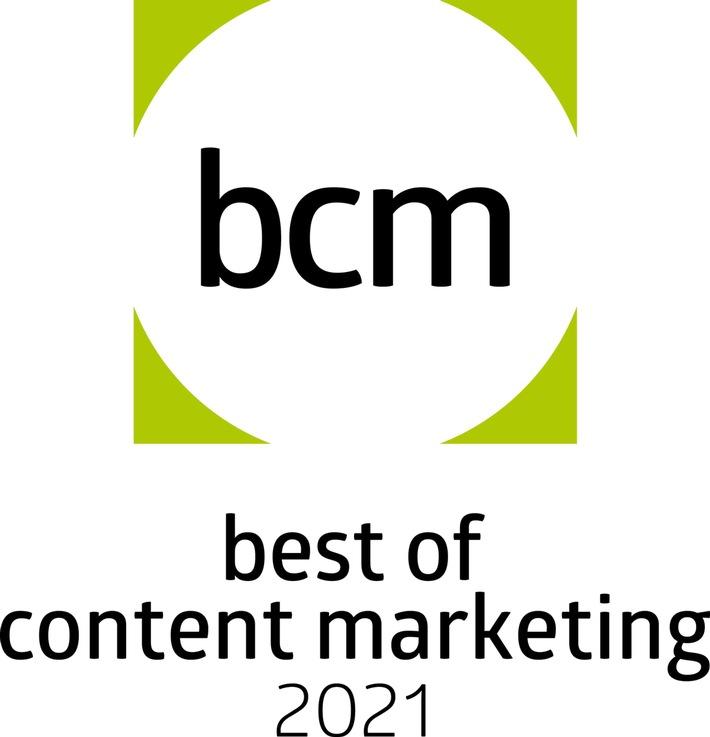 Auszeichnung / Mehrfacher Preisträger beim BCM Award 2021: TERRITORY gewinnt acht Mal Gold, sieben Mal Silber