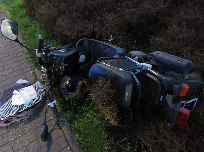 POL-OE: Rollerfahrerin bei Unfall verletzt