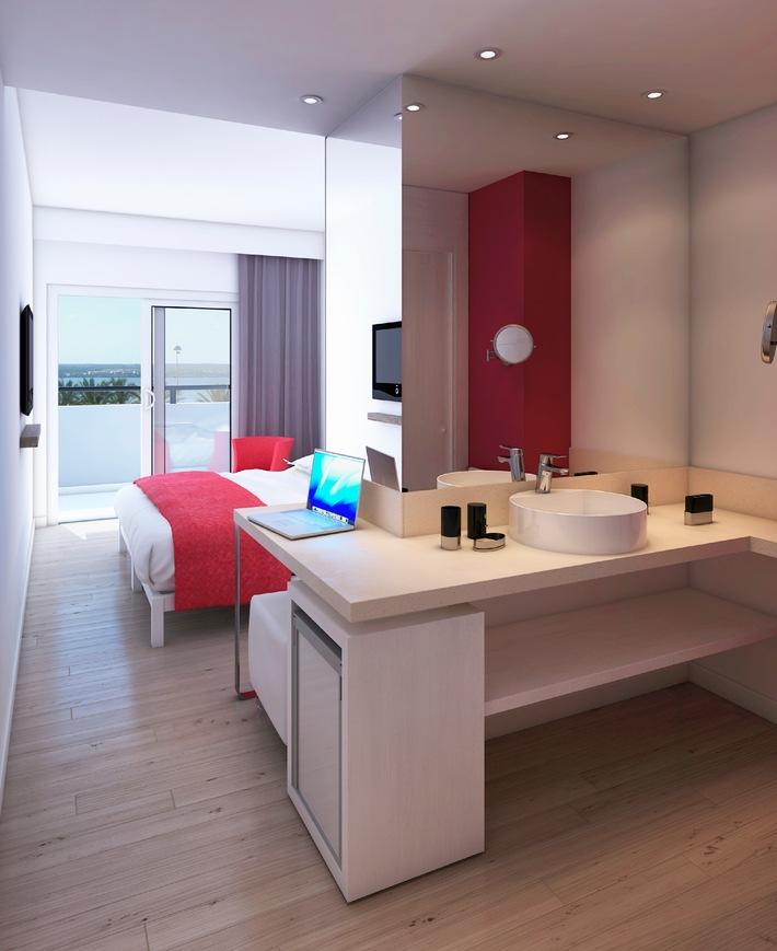 Das neue allsun hotel kontiki playa begr t nach for Zimmer und kreim