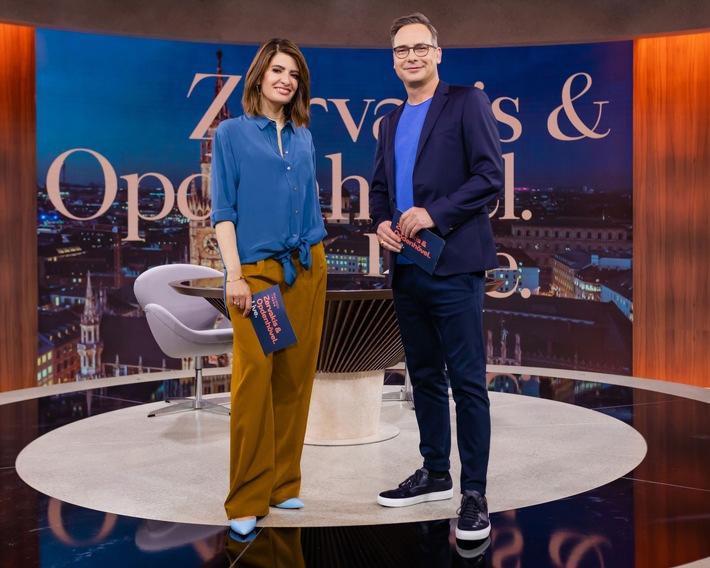 """Der Montag wird #ZOL: Das neue ProSieben-Journal """"Zervakis & Opdenhövel. Live."""" startet am 13. September"""