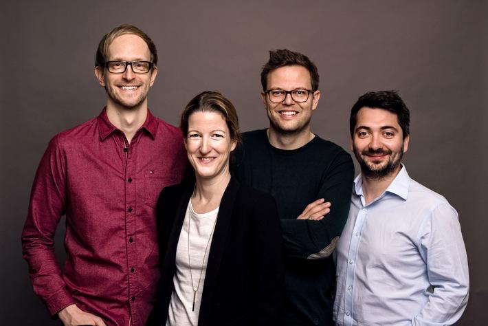 Homeday Management-Team: Philipp Reichle (CTO), Friederike Hesse (COO), Steffen Wicker (CEO) und Dmitri Uvarovski (CMO). Weiterer Text über ots und www.presseportal.de/nr/121300 / Die Verwendung dieses Bildes ist für redaktionelle Zwecke...</a></div> </figure> </div> </div> </div><div class=