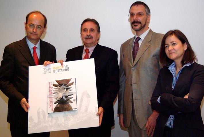 Banca del Gottardo beschenkt die Stadt Lugano