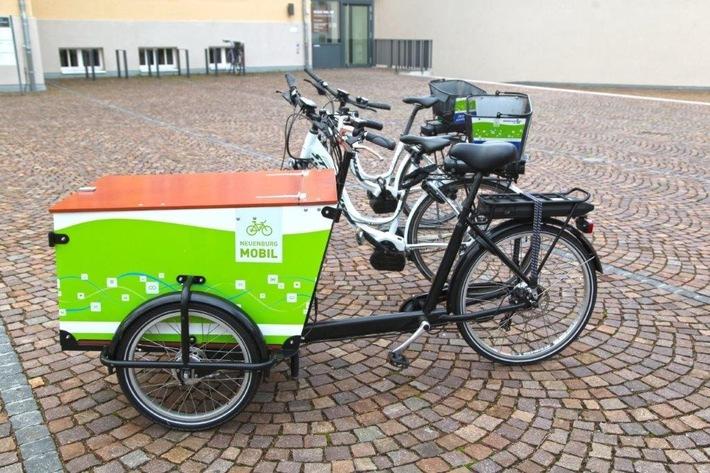 Im Hintergrund die Stevens Räder, vorne das Transporter E-Bike, Foto: Polizei