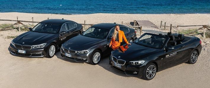 """Sixt startet mit exklusiver BMW- und MINI-Flotte auf Sardinien. Weiterer Text über ots und www.presseportal.de/nr/110573 / Die Verwendung dieses Bildes ist für redaktionelle Zwecke honorarfrei. Veröffentlichung bitte unter Quellenangabe: """"obs/Sixt SE"""""""