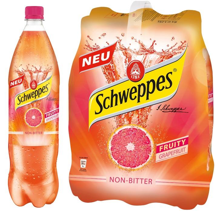 """""""Schweppesgemachte Limonade"""" - Fruity Grapefruit geht an den Start"""
