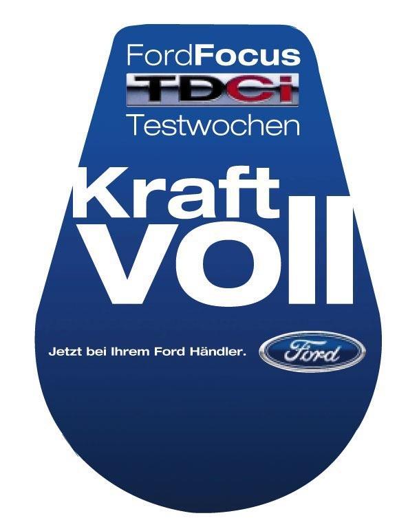 Die Ford-Werke AG hat eine Werbekampagne für den neuen Ford Focus TDCi mit Common Rail Dieselmotor kurzfristig geändert. Der  auf den Griffen von Zapfpistolen angebrachte, alte Schriftzug hatte bei einigen wenigen Autofahrern zu Mißverständnissen geführt. Deshalb wird er jetzt durch dieses neue Motiv ersetzt.