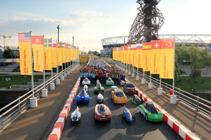 """Shell Eco-marathon 2017 in London / Weiterer Text über ots und www.presseportal.de/nr/53326 / Die Verwendung dieses Bildes ist für redaktionelle Zwecke honorarfrei. Veröffentlichung bitte unter Quellenangabe: """"obs/Shell Deutschland Oil GmbH"""""""