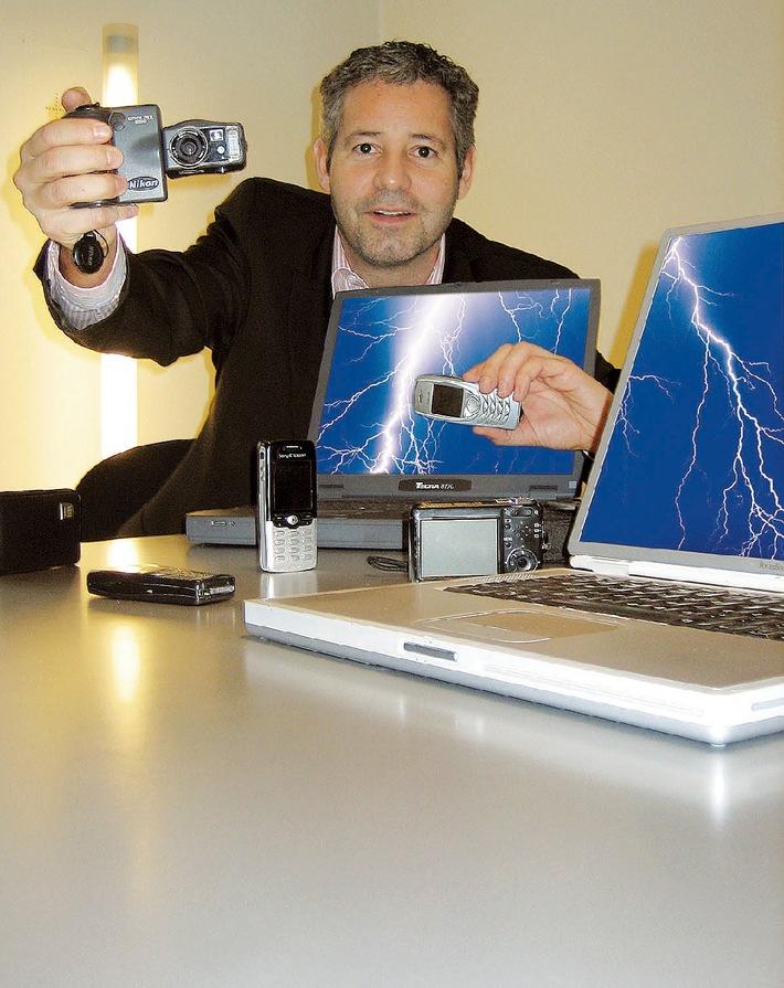 Die Power-Akku-Folie ist geeignet für alle neuen oder gebrauchten Li-Ionen Akkus. Weiterer Text auf ...