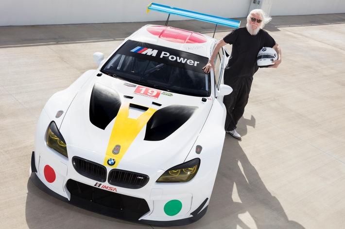 Weltpremiere des BMW Art Car von John Baldessari auf der Art Basel in Miami Beach 2016