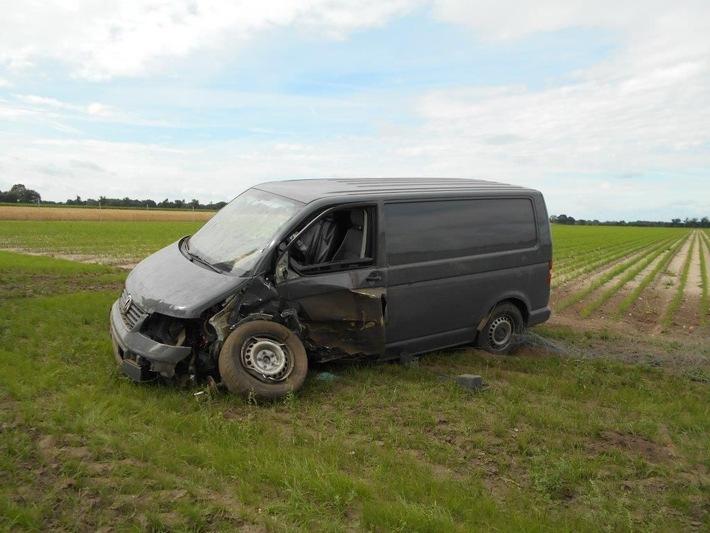 POL-NI: Verkehrsunfallflucht auf der L343 - Zeugenaufruf