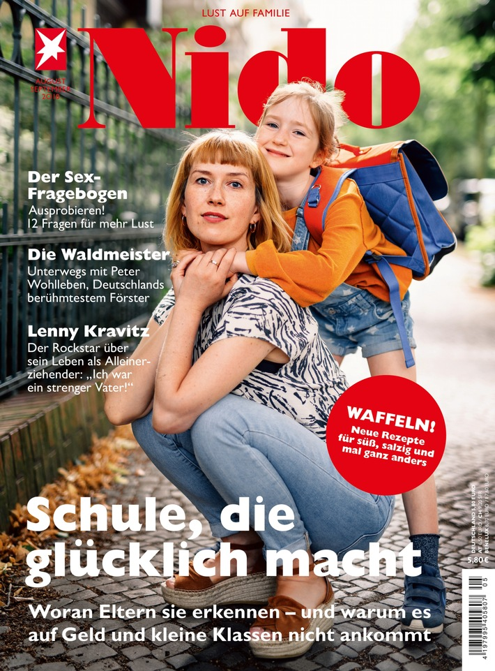 """Cover NIDO 05_18 / Weiterer Text über ots und www.presseportal.de/nr/102049 / Die Verwendung dieses Bildes ist für redaktionelle Zwecke honorarfrei. Veröffentlichung bitte unter Quellenangabe: """"obs/Gruner+Jahr, Nido"""""""