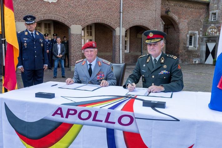 Apollo: Gemeinsame Zukunft in der bodengebundenen Luftverteidigung