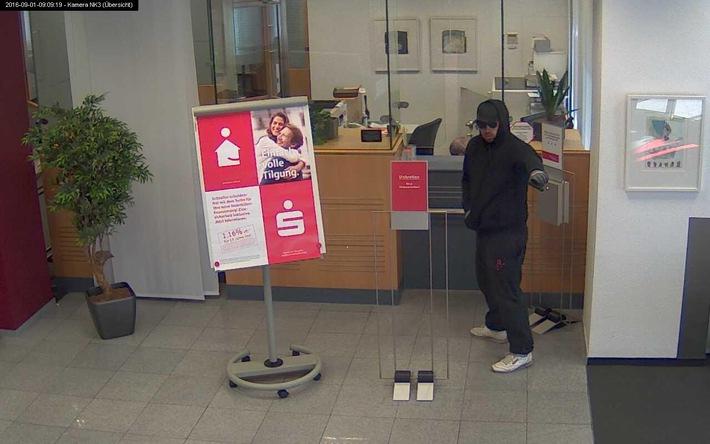 POL-MS: Bankraub in Coerde - Belohnung von 2.000 Euro ausgesetzt - Fahndung bei Aktenzeichen XY