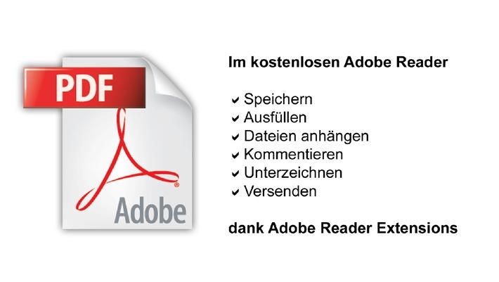 Absolute Development AG weckt die verborgenen Funktionen von Adobe Reader