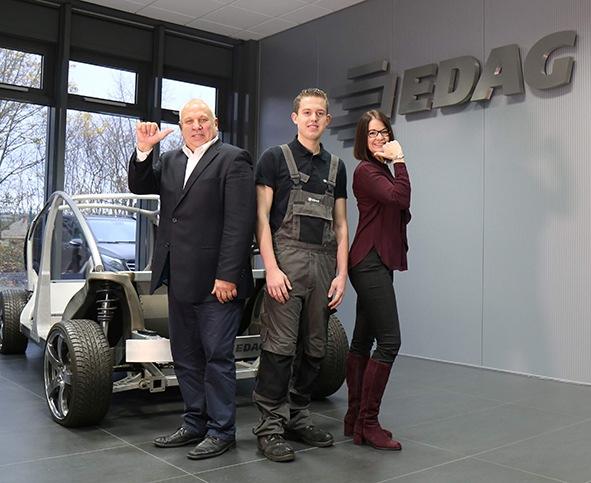 EDAG stellt erneut den Bundessieger!